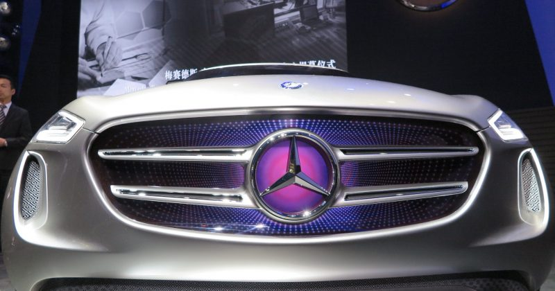 Mercedes Made in China und das Konzeptauto GCode