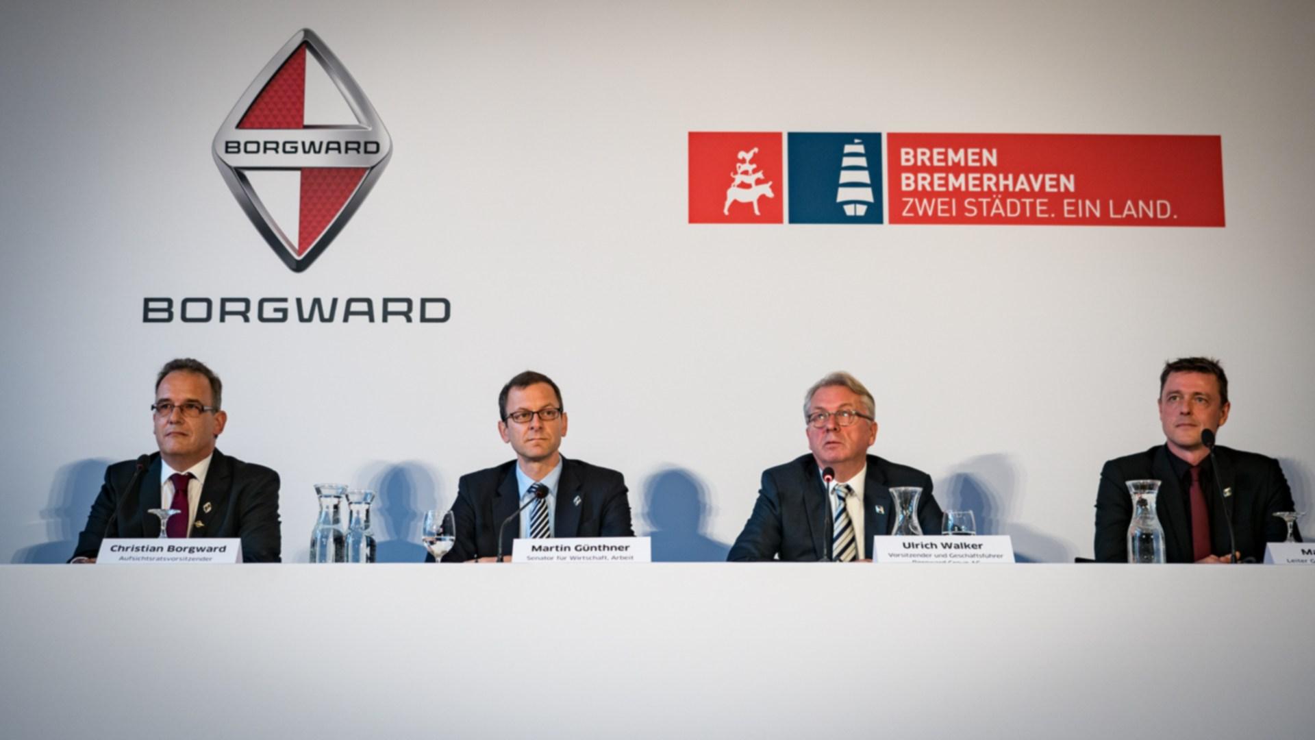 Borgward Pressekonferenz