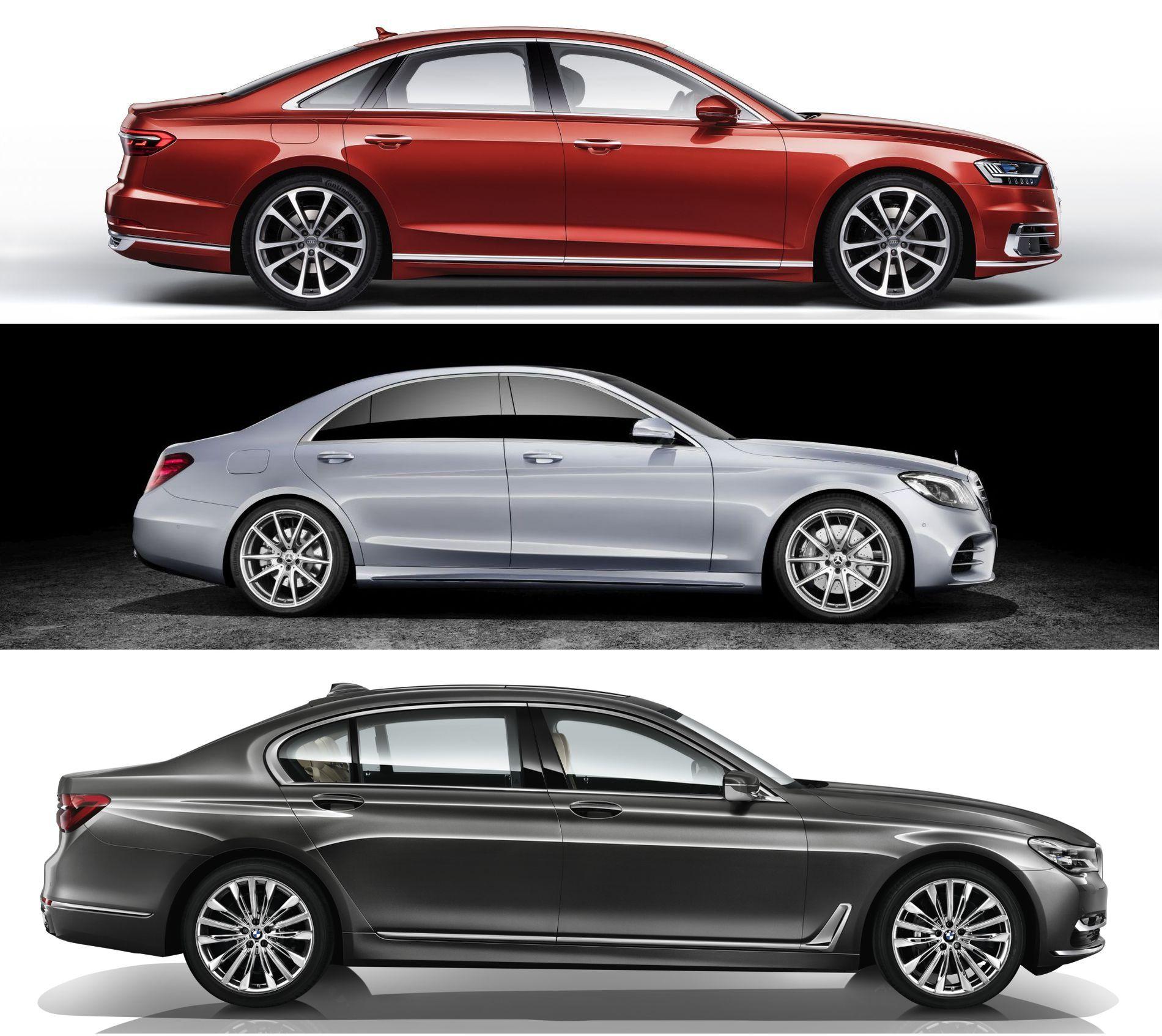 A8, S-Klasse, 7er BMW