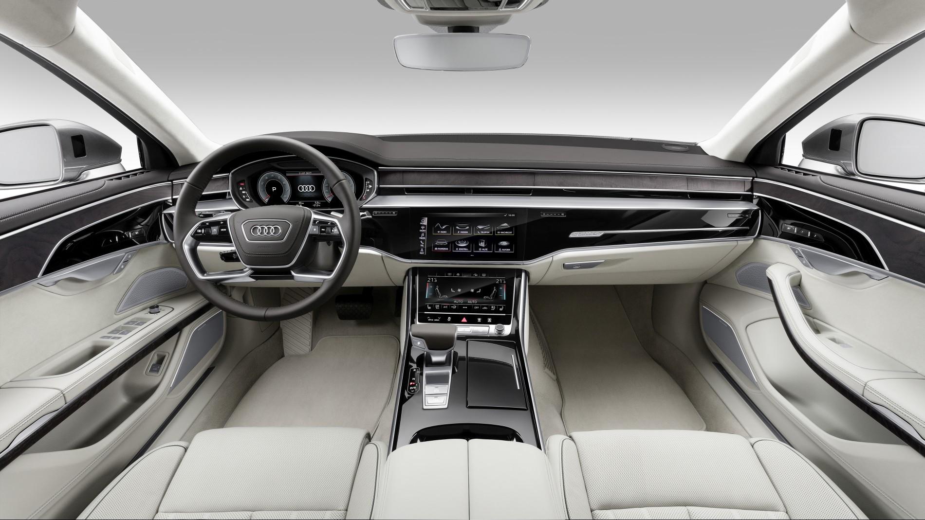 Cockpit neuer Audi A8