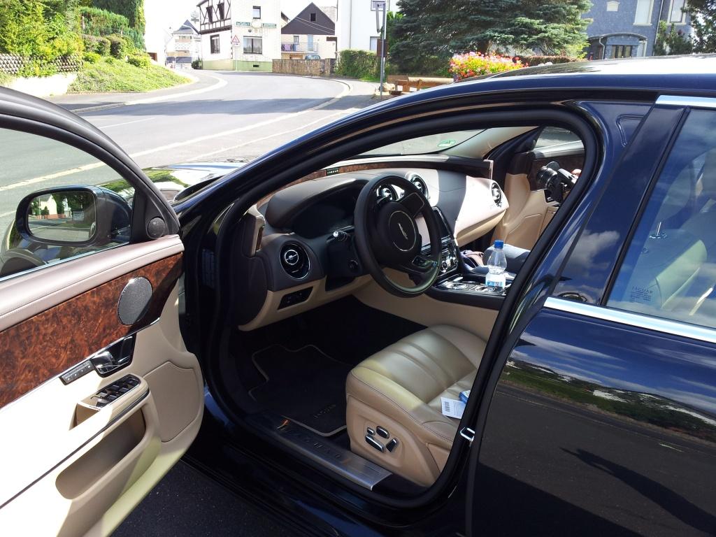 Jaguar XJ innen