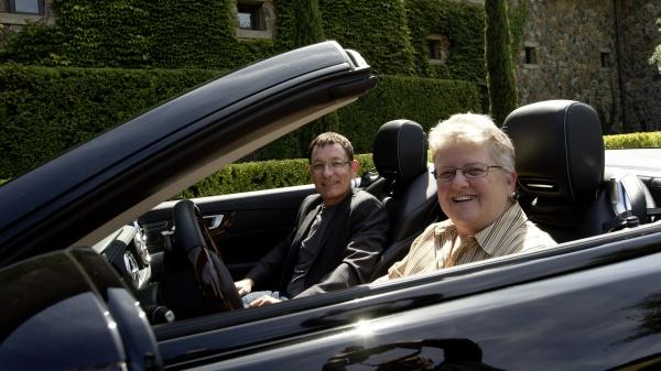 Leslie Ann Jones und Herbert Waltl
