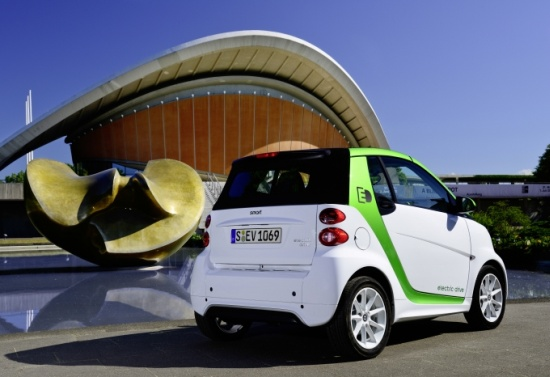 Smart electric drive Coupe