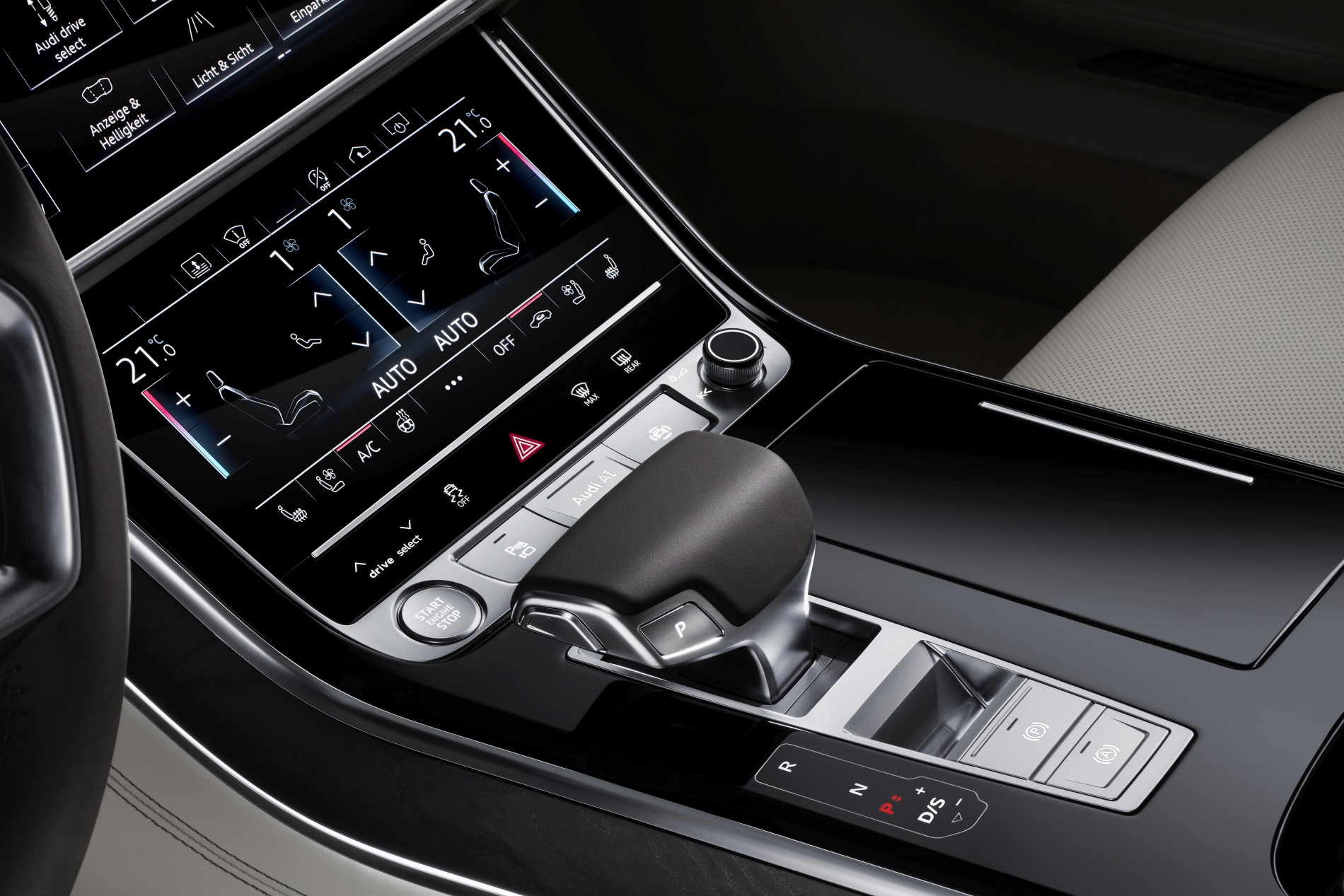 Touchdisplay Audi A8