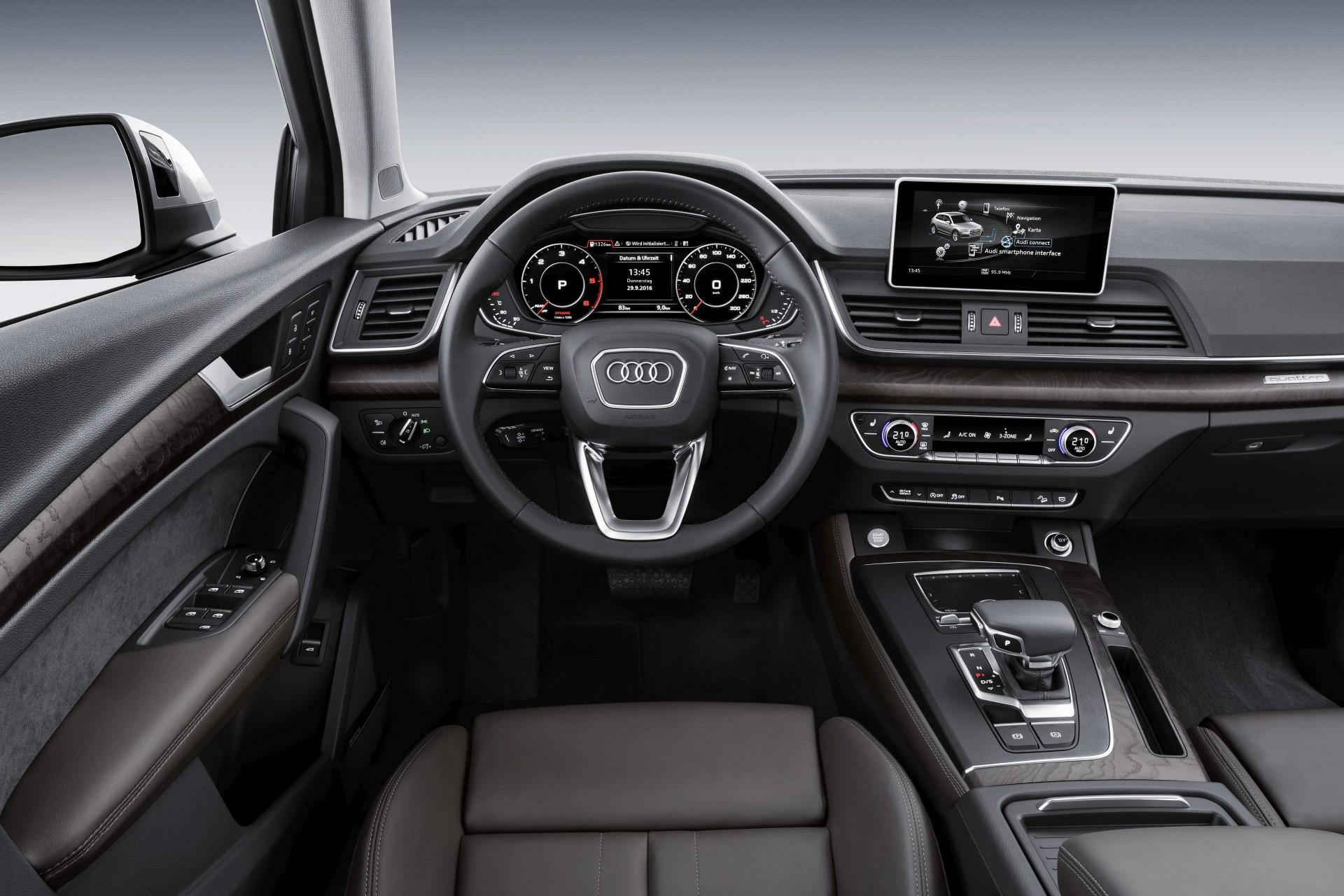 Audi Q5 - Innenraum Cockpit - Bild: Sandra Schink