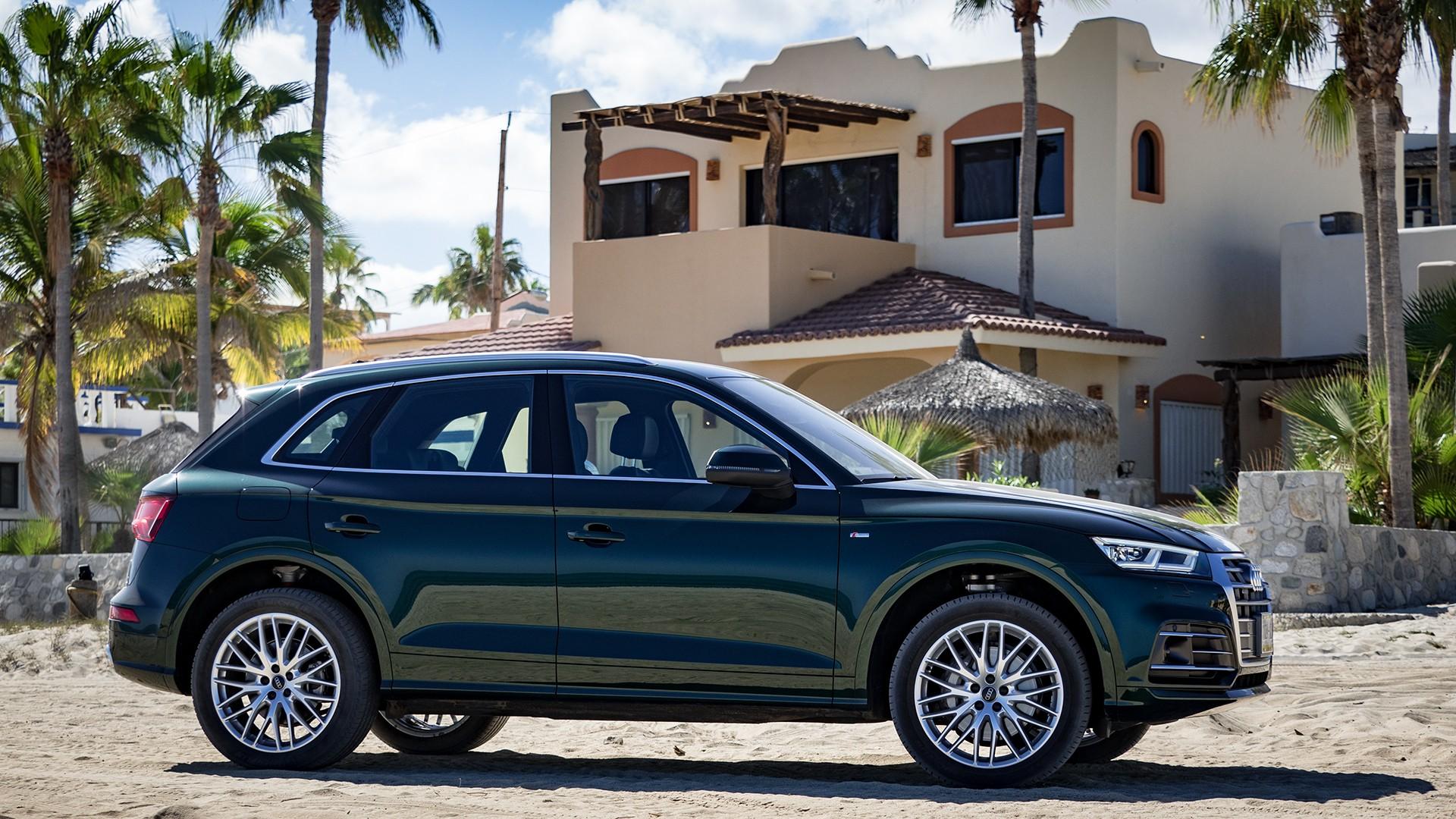 Audi Q5 - Seitenansicht - Bild: Sandra Schink