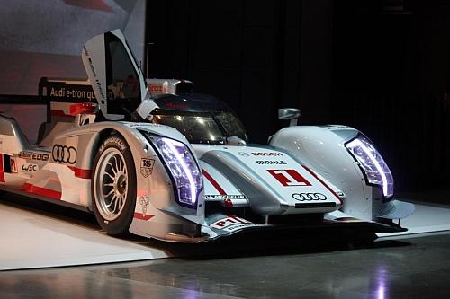 Audi E Tron LeMans 24 Stunden Racer 2012