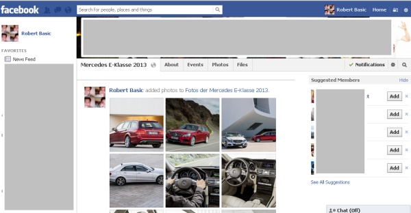 FB Gruppe E-Klasse 2013