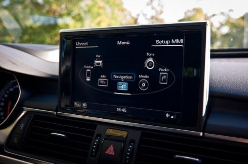 Audi Informationsscreen