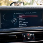 BMW Informationsscreen