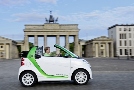 Smart fortwo electric drive Carbio